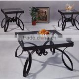 Black modeling Coffee Table and End Table 1+1