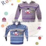 Acrylic/Wool/Viscose Sweaters for Children