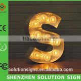 direct factory of metal marquees lettters for 3D letter                                                                         Quality Choice