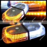 240 LED Magnetic Roof Top Emergency Hazard Warning Tow Strobe Light Lamp - Amber&White