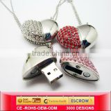 china jewelry USB memory,gift usb shielded cables,heart shape usb to ttl converter,manufacturers,supplier&exporters