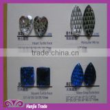 Taiwan acrylic stones flat back/acrylic butterfly beads for garment