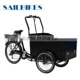 closed cargo box tricycle for sale