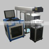 China Jinan laser equipment supplier DW-1010 blue high quality co2 laser marking machine 30w on non-metal material
