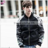 OEM cheap designer brand name winter men's jacket