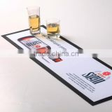 Personalized rubber bar spill mat