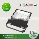 Special Slim 200W LED Flood Light Waterproof Outdoor Illumination For Building Billboard