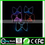 attractive designs The cheappest price flashing light up bow tie