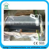 Natural slate quartz interior window sills without white line