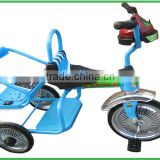 Zhejiang tricycle, lingli baby car three wheels riding toys children tricycle for twins