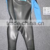 Top qaulity 5-7mm smooth skin neoprene(SCR) one piece unisex wetsuit triathlon suit