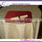 light gold poly damask tablecloths for table decorations in banquets, events