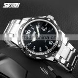SKMEI Latest Arrival 3atm quartz stainless steel back watch 0992