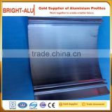 Colorful custom size 25mm wall-mounting profile aluminum extrusion snap solar panel frame