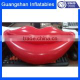 Party decoration inflatable sexy red lip