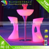 led bar acrylic table & chair light furniture luminous waterproof outdoor