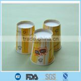 Single wall hot paper cup in Hunan/Coffee cup manufactor in China/take away printed hot paper cup