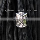 3 Dimensional 14*11MM Antique Silver Zinc Alloy Evil Charm For Paracord Hole Beads For DIY Jewelry Charms