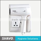 Best dc motor electronic hair dryer diffuser for western, energy-saving and low noise