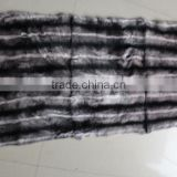 Fur Plate / Dyed Rabbit Fur Blankets / Chinchilla Fur Pelt