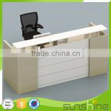 Made in china customized reception chair and desk