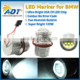 For BMW E39 LED angel eye headlight apply for BMW 1/5/6/7/M5/X5 Series