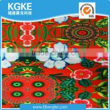 New Arrival 82 Polyester 18 Spandex printed colorful big red flower Fabric for Sexy Girl Swimwear/ Bikini