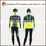 New Custom long sleeved jersey men antibacterial deodorant breathable quick drying riding clothes suit