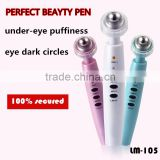 Multi-funct Eyes pen wrinkle remove pen with LED light massager Relieves dark circles and puffiness under eyes for Wrinkle