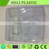 blister process type and custom clear perfume cosmetic tray packaging