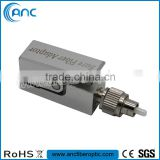 Square type FC Bare Fiber Optic Adapter for Splice & Test