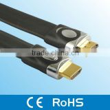 manufacture wholesale high quality double ended rohs flat hdmi cable 1.4 cable hdmi for ps4 cable hdmi 1.4/2.0 version