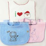 china supplier hot sales baby bibs baby gifts