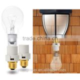 Lamp Holder Light Sensor Socket Outdoor motion light sensor switch/bulb socket/lamp holder