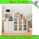 2013 Economical And Practical PVC microwave shelf Kitchen Cabinet kitchen rack LF-KF-0084