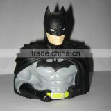 Rotocasting plastic vinyl figure toys,screen cartoon batman toys