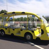 Nice looking luxury new electric bus with low price and 23 passengers for tourist for sale