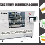 6-axes high speed super stable brush making machine cnc 3-heads drilling and tufting plastic wooden
