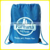 Handy Promotional Farmina PET Foods Happy Pet Happy You Draw String Back Sack PET Food Bag