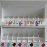 Custom wooden cosmetic organizer with drawers acrylic cosmetic products display cosmetic storage box