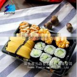 SM1-1105A Momiji disposable Japanese plastic printing food sushi box container tray