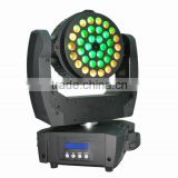 200mw green laser 36*10W 4in 1 rgbw led light for stage