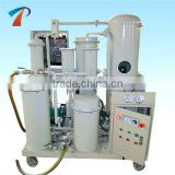 Hot Sale Used Lubricant Oil Cleansing Machine/Refrigeration Oil Purifier/Lube Oil Refinery Plant, removing water gas particles
