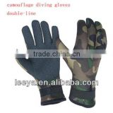 diving equipment fishing sets 5mm diving gloves