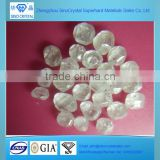 4.0-4.5mm Henan pure white rough cultivated diamond HPHT CVD for gem