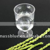 160ml Disposable Goblet Champagne Glass