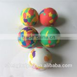 Hot sell cheap colorful eva foam ball toy gun eva ball promotional eva ball for kids playing