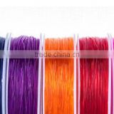 High-tenacity elastic cord Custom size and colour elastic string for beaded bracelet