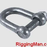 TRAWLING CHAIN SHACKLE WITH SQUARE HEAD SCREW PIN