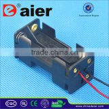 Plastic battery case aaa battery holder
